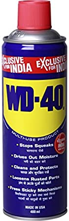 WD-40 400TC0313B Multi-Use Product Spray with Straw, 400 ml