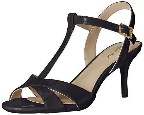 Calvin Klein Women's Laycie Dress Sandal, Black, 8 M US