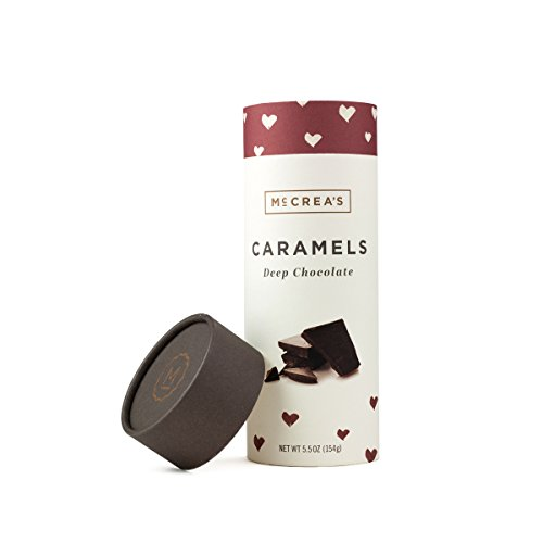 McCrea's Candies Caramels Made in Boston Deep Chocolate made in New England