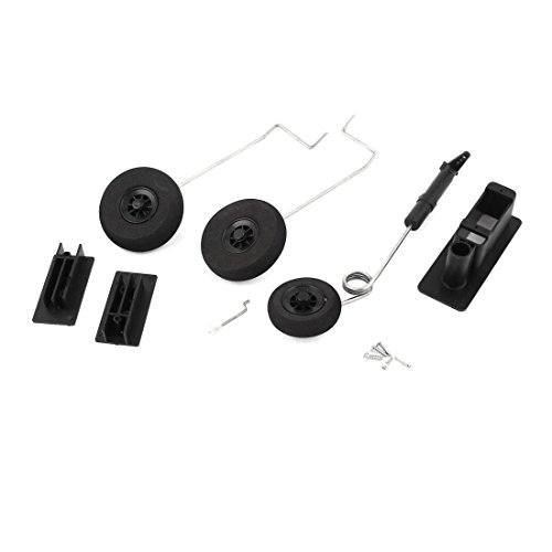 Aexit RC Remote Electrical equipment Control Airplane Plane Spare Parts Landing Gear Set for F16 Aircraft ()