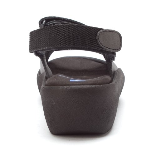 Wolky Comfort Sandalen Edelsteen Antraciet Zacht Metallic Leer