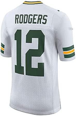 LILIONE Camiseta de Rugby para Hombre Green Bay Packers Aaron ...