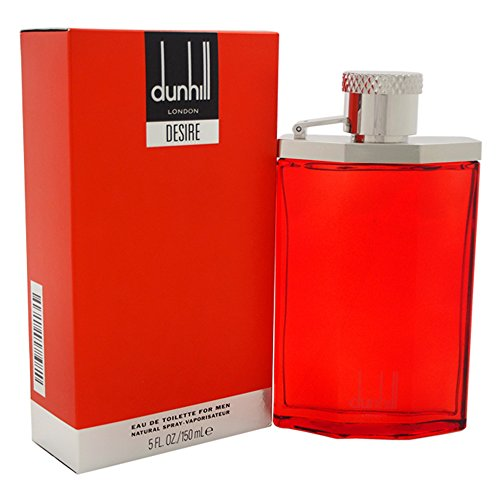 Alfred Dunhill Desire Red for Men Eau de Toilette Spray, 5 Ounces (Alfred Dunhill Desire Edt Spray)