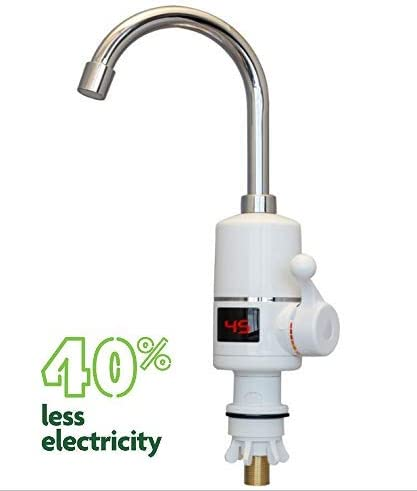 EuroQuality Instantánea Sin Tanque Calentador Eléctrico de Agua Caliente Grifo de la Cocina de Calentamiento Instantáneo Grifo (Standart Deluxe (LED))