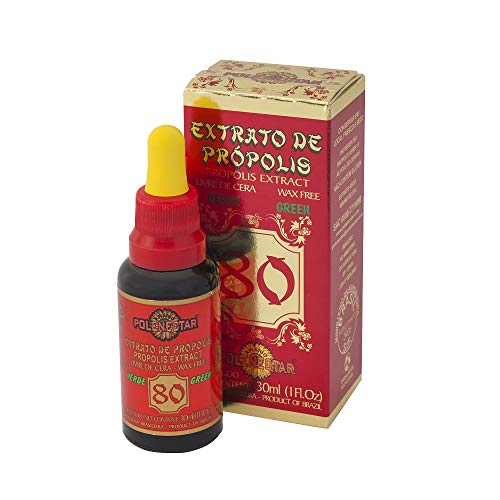 1 Bottle Brazil Green Bee Propolis Extract Wax Free 80 (30ml) from Polenectar