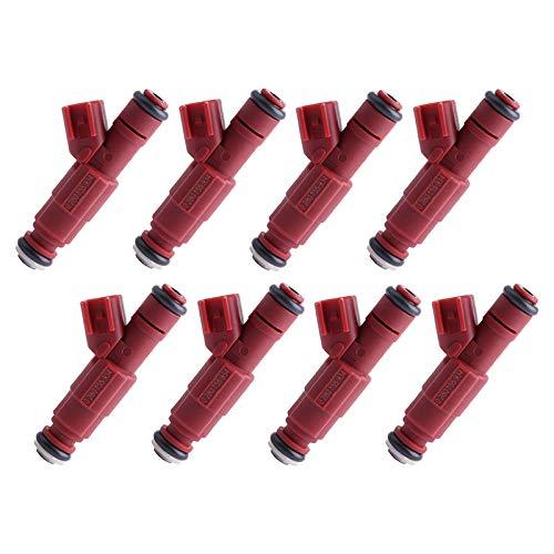 (SCITOO Fuel Injectors Kits, 1 Hole OEM Fuel Injector Fit for Dodge Dakota/Durango/Ram 1500/Ram 1500 Van/Ram 2500/Ram 2500 Van/Ram 3500/Ram 3500 Van 0280155934 (Set of 8) )