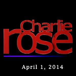 Charlie Rose: Michael Lewis, April 1, 2014 Radio/TV Program