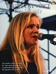 FABER MUSIC CASSIDY EVA - YOU'RE THE VOICE + CD - PVG Sheet music pop, rock Piano voice guitar