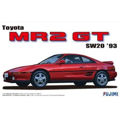 1/24 inch up series No.40 Toyota SW20 MR2 '93 (japan import)