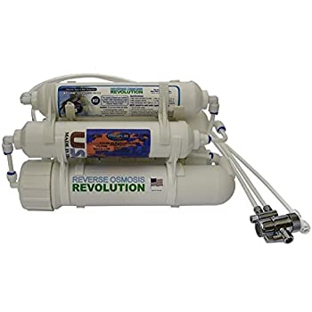Countertop Portable Universal 5-stage Reverse Osmosis RO Purification Water System with DI Deionizing Mixed Bed (close to 0 PPM) postfilter, build in USA