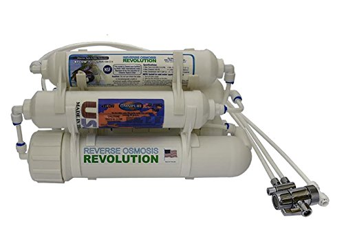 Countertop Portable Universal 5-stage Reverse Osmosis RO Purification Water System with DI Deionizing Mixed Bed (close to 0 PPM) postfilter, build in USA by Reverse Osmosis Revolution