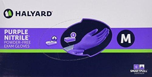 Kimberly-Clark 55082 Nitrile Exam Gloves, Medium, Purple, Box/100 (Pack of 3) (Pack of 300)
