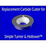 "Replacement Carbide Cutter Insert for Simple Turner & Hollower (Sth) 9/16"" Round Wood Turning"