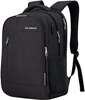 Canway Travel Laptop Backpack with USB Charging Port