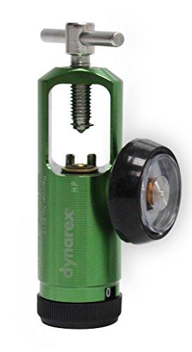 Dynarex Mini Oxygen Regulator, 0-25 Liters/inute, 0.7 Pound