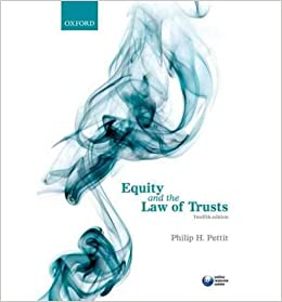 [(Equity and the Law of Trusts)] [ By (author) Philip H. Pettit ] [October, 2012]