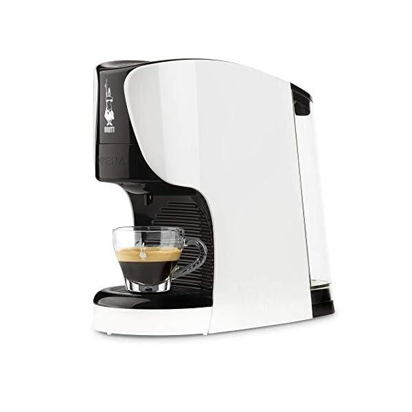 Bialetti Opera Macchina da Caffè Espresso per Capsule in Alluminio sistema Bialetti il Caffè d'Italia, Bianca 1
