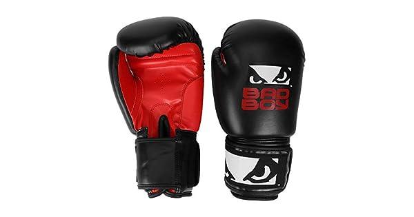 0042224a6 Luva de Boxe muay Thai Treino Bad Boy 12 Oz - Preto+vermelho - Único   Amazon.com.br  Amazon Moda