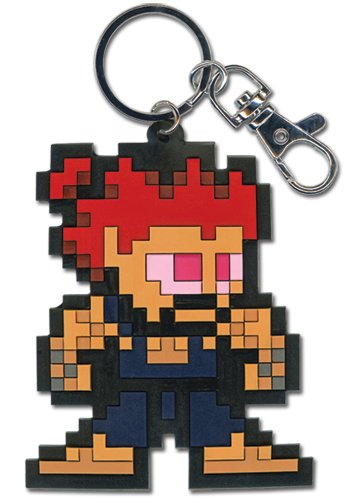 Great Eastern Entertainment Super Street Fighter Iv Sprite Akuma PVC Keychain