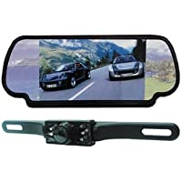Absolute CAMPACK-700 7.0 Inches TFT/LCD Rear View Mirror Monitor with Rear View Night Vision Camera