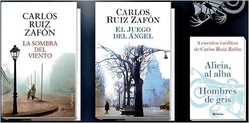 Estuche metálico Carlos Ruiz Zafón Fuera de colección: Amazon.es: Ruiz Zafón, Carlos: Libros