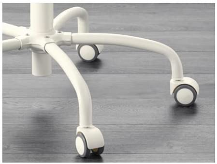 Gregor – Chaise pivotante Blanc, vittaryd, Blekinge blanc