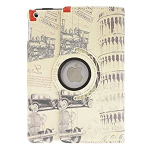 Retro Belfry Pattern Full Body Case With Stand for iPad Air