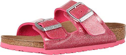 Birkenstock Arizona Birko-Flo Galaxy Rose Birko-flor Sandals - 32 (US 1-1.5 Little Kid) Narrow
