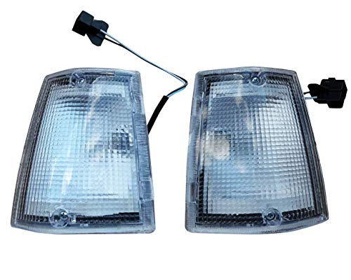 BUY N TRY Front White Corner Side Light Signal Lamp For Mazda Magnum B2000 B2200 B2600 1985-1998