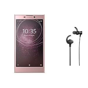 Sony Xperia L2 Factory Unlocked Phone - 5.5Inch Screen - 32GB - Pink (U.S. Warranty) w/ Sony Extra Bass Sports