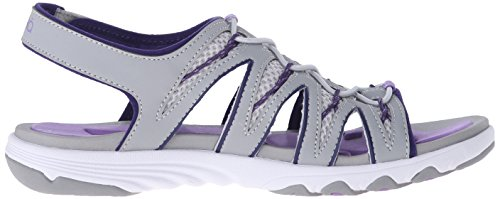 Grey Glance cool Mist english Grey Ryka Athletic Sandal Lavender Women's TCqxwg