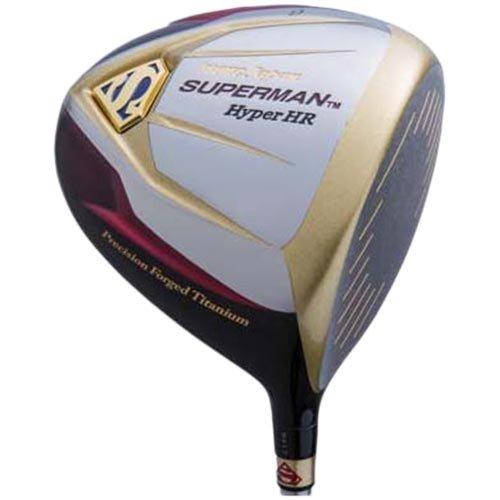 プロテック ゴルフ スーパーマン Hyper HR 超高反発ドライバー 10° グラファイトデザイン社製オリジナルカーボン装着 SR