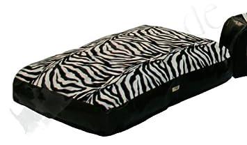 Cama para perros Happy Safari (Zebra Negro/Blanco) de yagu: Amazon.es: Productos para mascotas