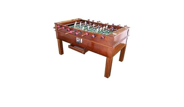 Futbolin profesional con monedero SANCHEZ PIZJUAN 166x95 cm: Amazon.es: Juguetes y juegos
