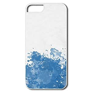 Cute Blue Splashes IPhone 5/5s Case For Birthday Gift