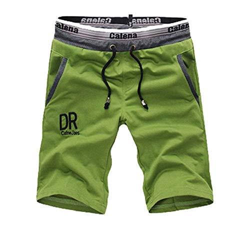 Classiques Pantalons De Courts Grun Pour Cordon Mode D'été Décontracté Chic Pantalon Survêtement Simple Sport Hommes Shorts IBrIq