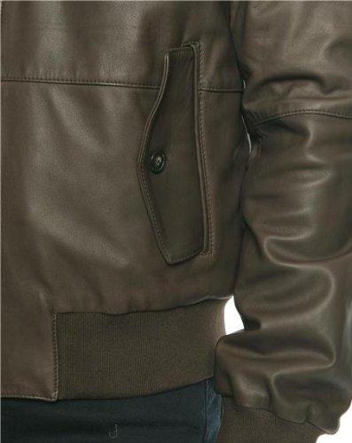Faconnable - Blousons - Homme - Blouson en Cuir Marron - M  Amazon.fr   Vêtements et accessoires 711fdda6bf28