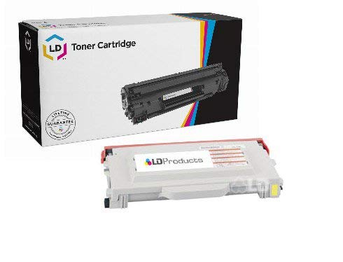Compatible Tn04y Yellow Toner - LD Compatible Yellow Laser Toner Cartridge for Brother TN04Y