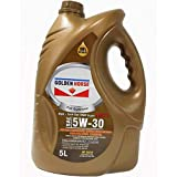 Golden Horse 5W30MC3 Synthetic Gasoline/Diesel Engine Oil, 5 Litres