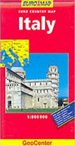 Book Italy (GeoCenter Euro Map)