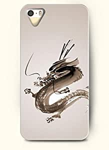 OOFIT Phone Case design with Ink Painting of Dragon for Apple iPhone 5 5s 5g