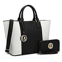"""About This Bag  Our classic medium tote is forever in style. Elegant and easy, this bag features a short top handle and a Dasein logo. Season to season, this perennial piece will take you everywhere. This tote bag measures 17""""W x 10.8""""H x 6""""D..."""