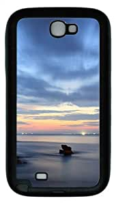 Samsung Galaxy Note II N7100 Case,Ship Lights TPU Custom Samsung Galaxy Note II N7100 Case Cover Black