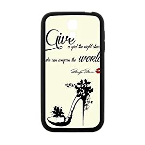 Give A Girl The Right Shoes New Style High Quality Comstom Protective case cover For Samsung Galaxy S4