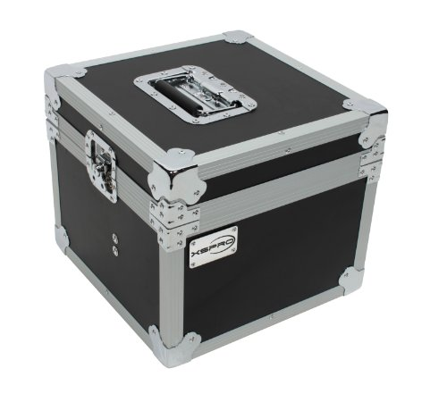 XSPRO XS-MC8 ATA 8 Microphone Transport Utility Case w/ (Microphone Storage)