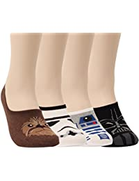 Star Wars Socks Collection Cotton No Show Socks For Mens Sneakers