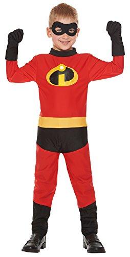 [Disney Pixar The Incredibles Dash Kids costume unisex 120cm-140cm 95613M] (Dash Incredibles Costumes)