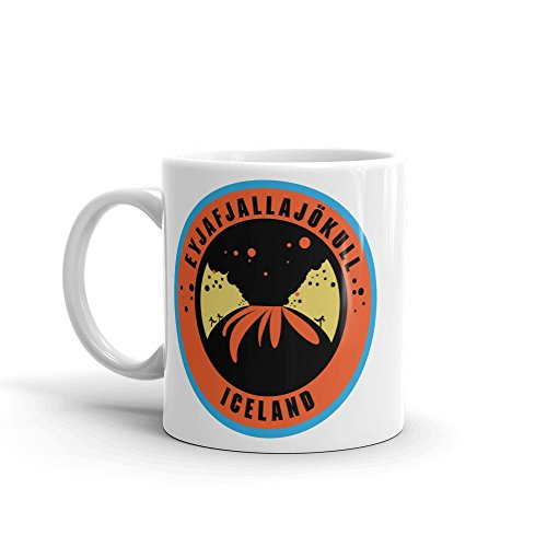 Eyjafjallajokull Iceland 10Oz Coffee Tea Mug  10512