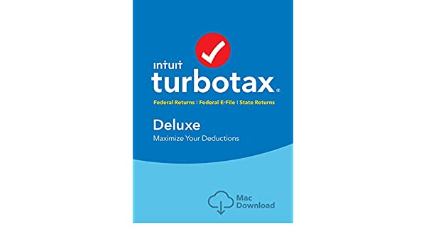 Amazon.com: TurboTax Deluxe + State 2018 MAC Download [Amazon Exclusive] [Mac Download]: Software