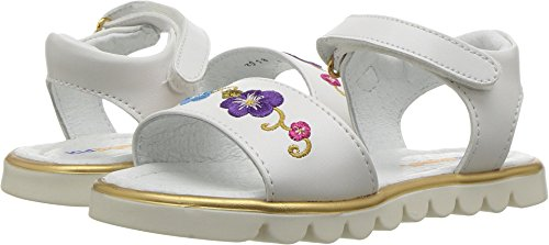 Kid Express Baby Girl's Kai (Toddler/Little Kid) White Combo 28 M EU - Toddler White Combo Footwear